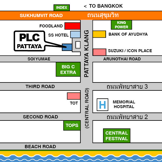 Map PLC Pattaya Klang